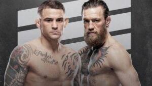 Boj-UFC-264-Konor-Makgregor – Dastin-Por'e-bukmekery-dayut-ravnye-shansy